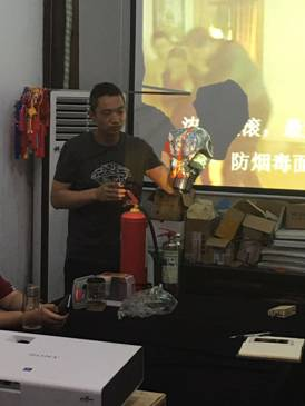 mg电子游戏平台官网:福建民俗博物馆开展消防安全知识讲座
